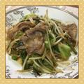 豚肉・キャベツ・もやしの簡単&サッパリ胡麻ポン炒め by kajuさん