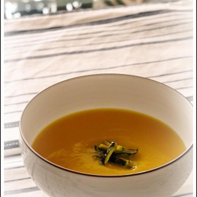 夏のカボチャスープ
