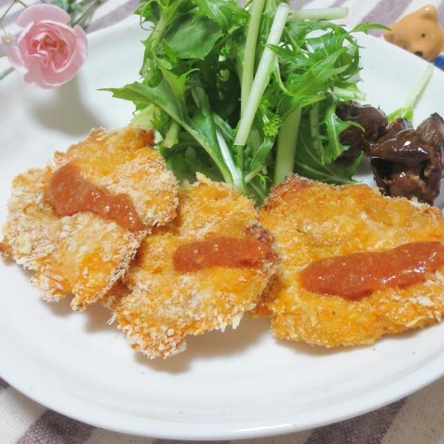 豚肉のケチャップフライ~オーブン焼き~