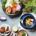 夏に食べたいアジア麺 vol.2|鶏肉でベトナム風つけ麺|お素麺アレンジ