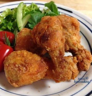 茹で鶏から作る*生焼けナシで簡単♪ケイジャンチキン