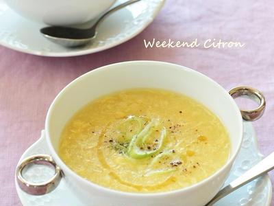 >コーンと卵の中華スープ【レシピ】 by makko(北島真澄)さん