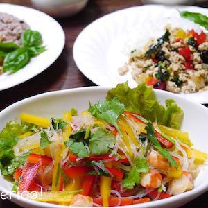 暑い日にぴったりのサラダ♪タイ料理のヤムウンセン