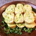滑らかパニック。アボカドチーズの絶品カレーチキンロール(糖質5.1g)