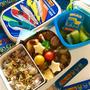 息子の幼稚園弁当 10種類以上のおかずを詰め込んで♬