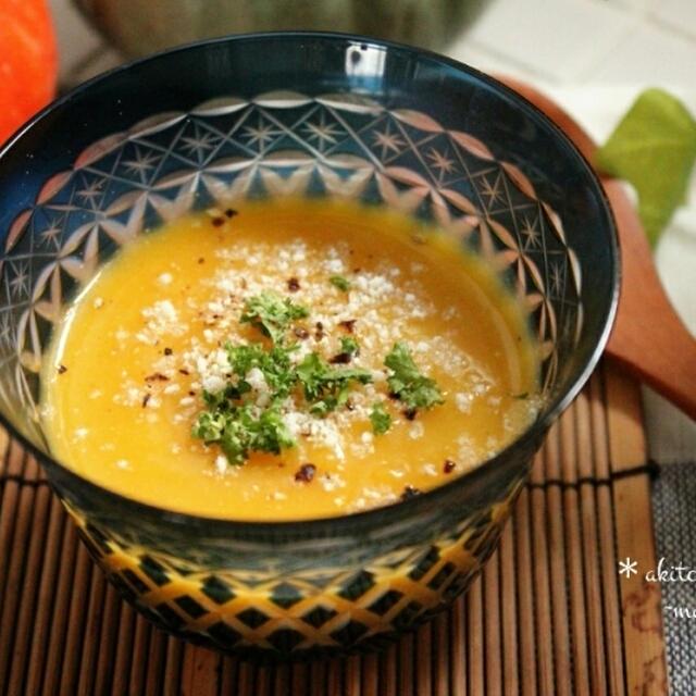 トロトロ♪まるで食べるスープ‼バターナッツかぼちゃのチーズポタージュ