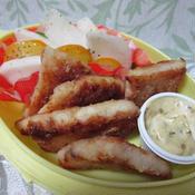 スパイスマヨネーズで食べるメカジキの竜田焼き