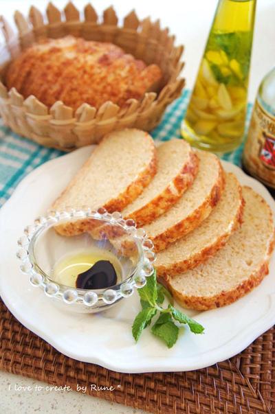 薄力粉で作る★簡単★美味しいパルメザンノチーズのチャパタ