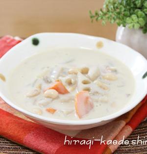 まろやかクリーミー♪豆乳根菜スープ~デトックスでダイエット!