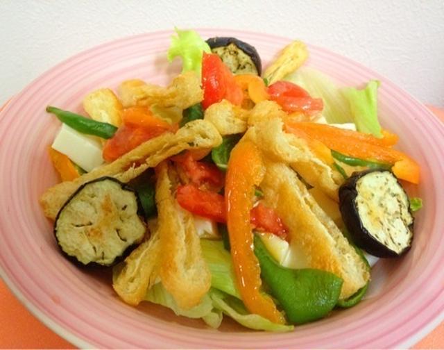 12. たっぷり野菜のノンオイル生姜サラダ
