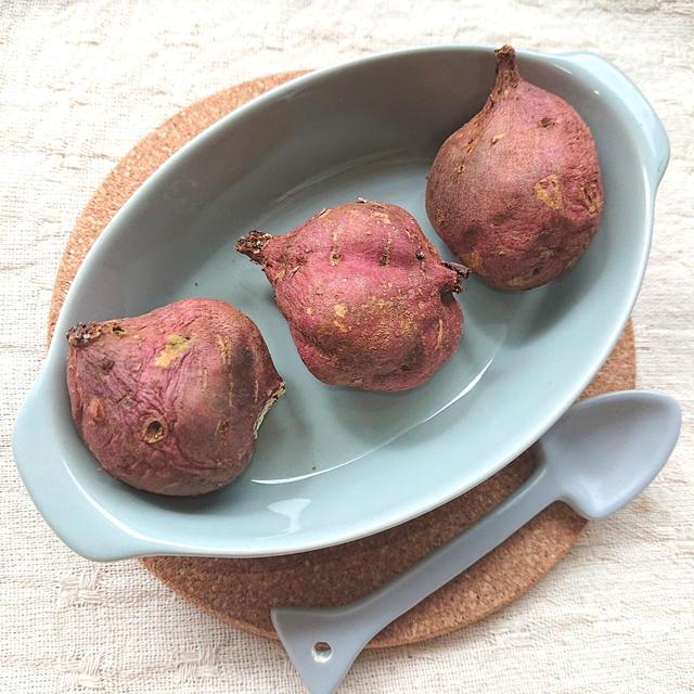 焼き芋設定のオーブンで焼くだけ簡単安納芋の焼き芋