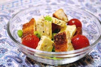 スマートチーズで☆トーストサラダ