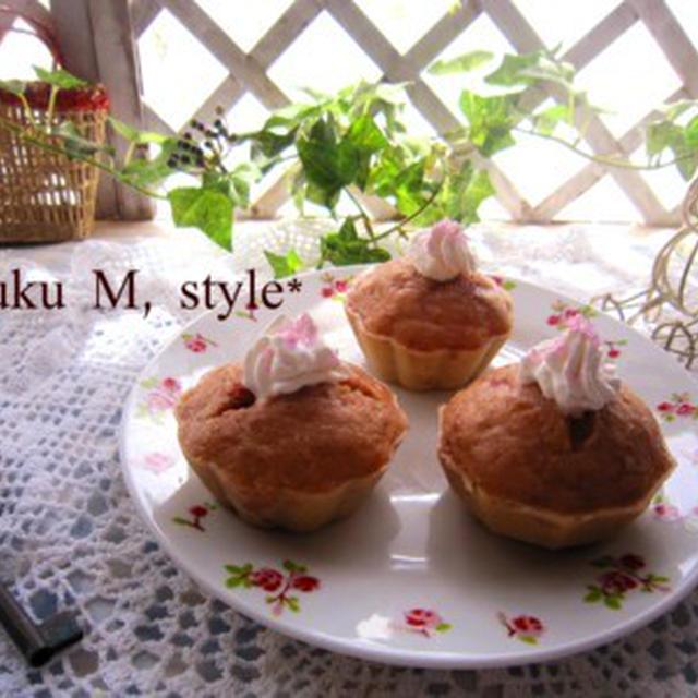 いちごの蒸しパン2種類(ふんわり&もっちり)