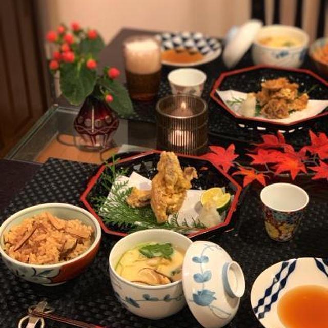 秋の味覚♪松茸を堪能