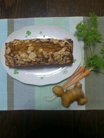 キャロットジンジャーケーキ