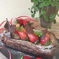 苺を使って町づくりセンター用バレンタイン試作品第二弾・・・簡単に出来る本格ガトーショコラ~♪♪ by pentaさん