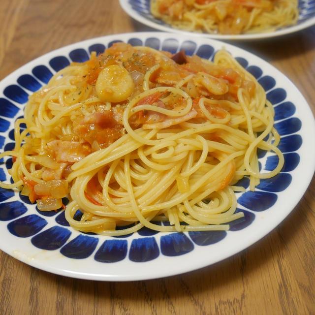 じゅくじゅくトマトでアラビアータ風!簡単辛いトマトソースパスタの作り方
