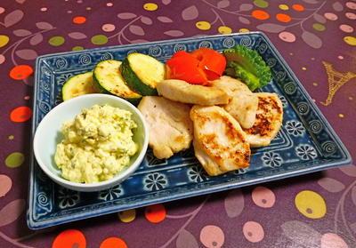 鶏むね肉のソテー タルタルソース