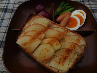アップルハニーシナモントースト