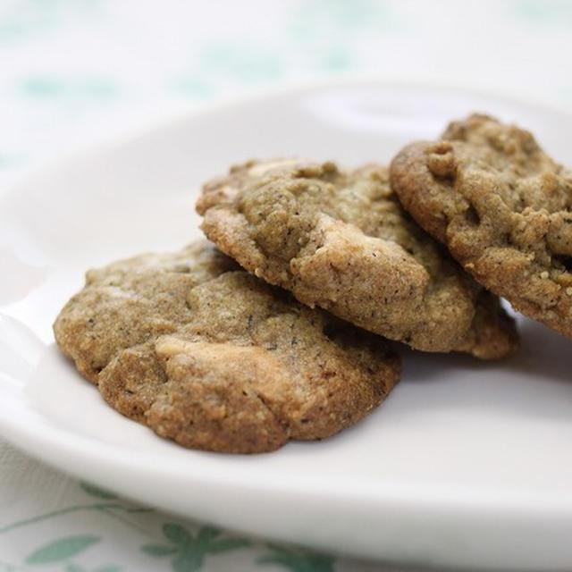 ★レシピ★紅茶とホワイトチョコのドロップクッキー