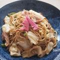 焼きそばの竹の子梅酢漬けトッピング by Sachi(いちご)さん
