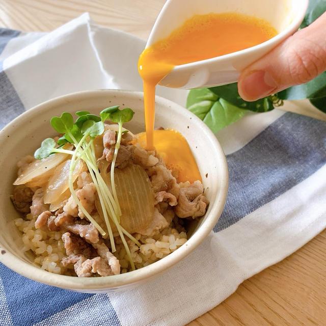 【レシピ】手軽に簡単すぐできる、甘辛な豚丼
