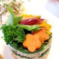 ☆mami's カラフル七夕寿司ケーキ