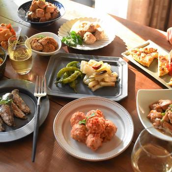 三重県津市「えんがわ」さんのお惣菜の盛り付け&スタイリングをさせて頂きました!