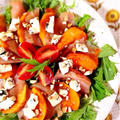 鶏生ハムと柿のバルサミコサラダ。 by Misuzuさん