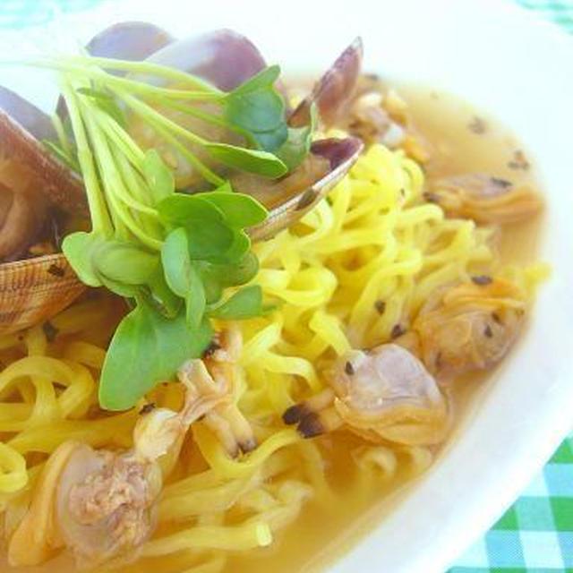 あさりの塩バジル拉麺