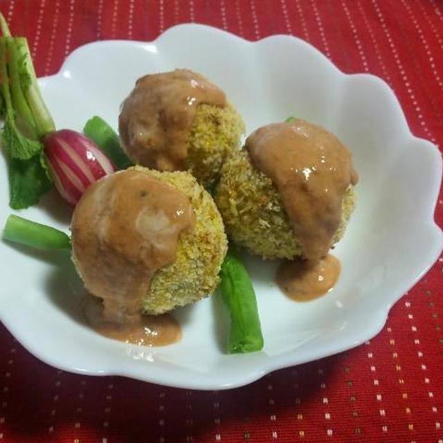 <畑のサツマ芋&小岩井オードブルチーズ>    サツマチーズ焼きコロッケ(キッチン ラボ)