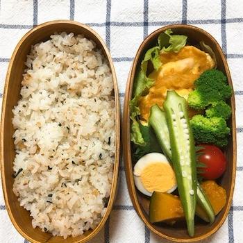 20180613鶏むね肉のピカタ弁当&そのマナーは誰が教えるのか。