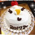 恒例の?干支ケーキ~ニワトリさん*酉年~♥