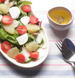 簡単!かぶとグレープフルーツのサラダ☆