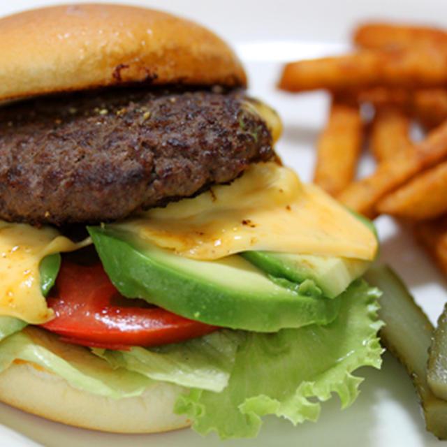 黒毛和牛ハンバーガー