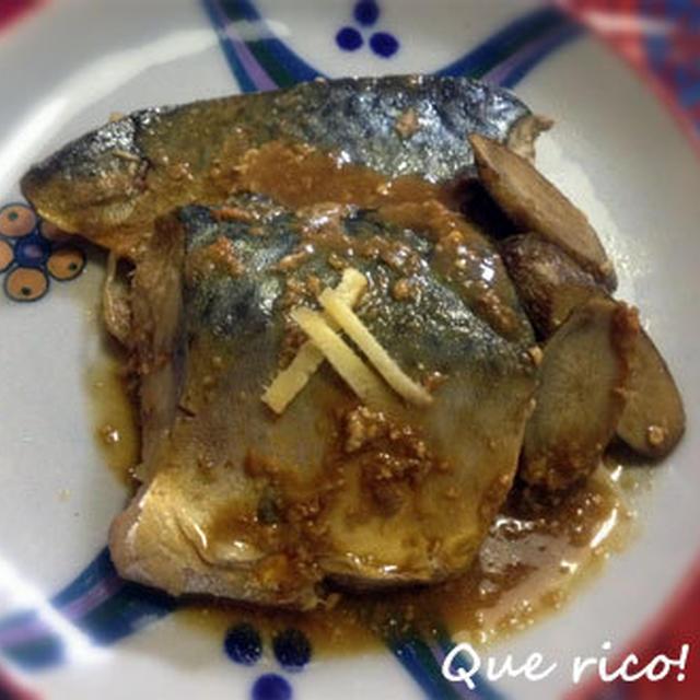 しっかり基本。鯖の味噌煮