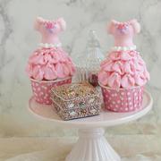 * ドレスドールのカップケーキ♪