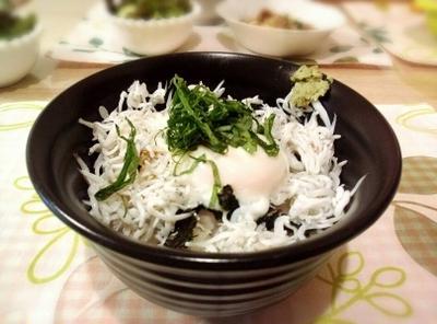 超簡単 しらすの江ノ島丼