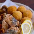 鮭の竜田揚げ☆鮭のコロッケ 道産鮭づくしの夕食 by P子さん