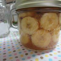 バナナとレモンですっきりフルーツブランデー☆