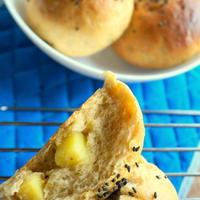 プルーンピュレの、しっとりお芋パン ★カリフォルニアプルーン★