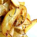ニンニク風味の焼きポテ