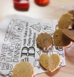 【ダイエットおやつ】2種のそば粉クッキー