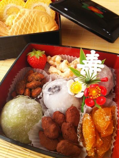 レシピ. お正月に お菓子のおせち 2014年末ver.