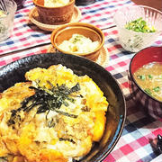 【30分!スピードおうちごはん】リメイク!かけ揚げの卵とじ丼 de 夕食 & くらしのアンテナ!