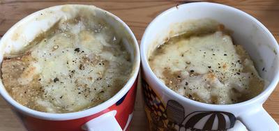 ポカポカ温まる!あめ色玉ねぎのオニオンスープとスープグラタンの作り方