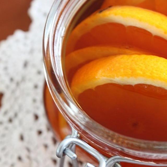 清美オレンジとジンジャーティーのフルブラ♪