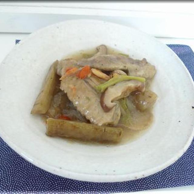 鶏手羽先とごぼうの滋味スープ&とろとろ煮