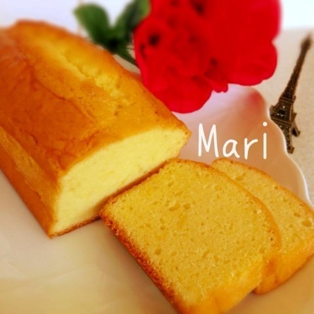Bonjour♪カトルカール☆パウンドケーキ