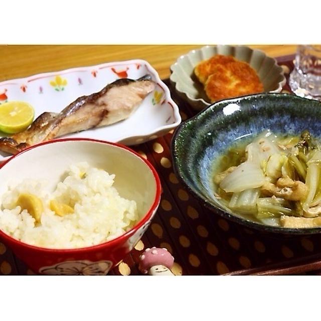 ほっこり秋の献立♪ある日の夕飯(簡単なレシピあり)